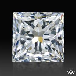 0.907 ct G SI1 A CUT ABOVE® Princess Super Ideal Cut Diamond