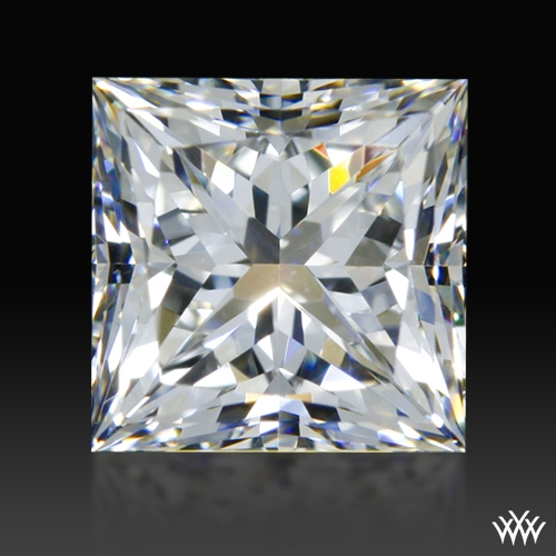 0.814 ct H VS1 A CUT ABOVE® Princess Super Ideal Cut Diamond