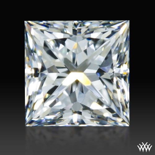 0.608 ct F VS1 A CUT ABOVE® Princess Super Ideal Cut Diamond