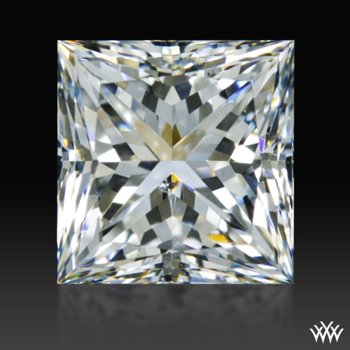 0.905 ct I SI1 A CUT ABOVE® Princess Super Ideal Cut Diamond