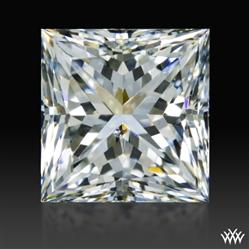 0.905 ct I SI1 A CUT ABOVE® Princess Super Ideal Cut Diamond