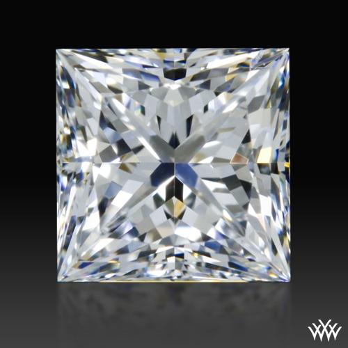 0.612 ct F SI1 A CUT ABOVE® Princess Super Ideal Cut Diamond