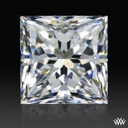 0.78 ct E VS1 A CUT ABOVE® Princess Super Ideal Cut Diamond