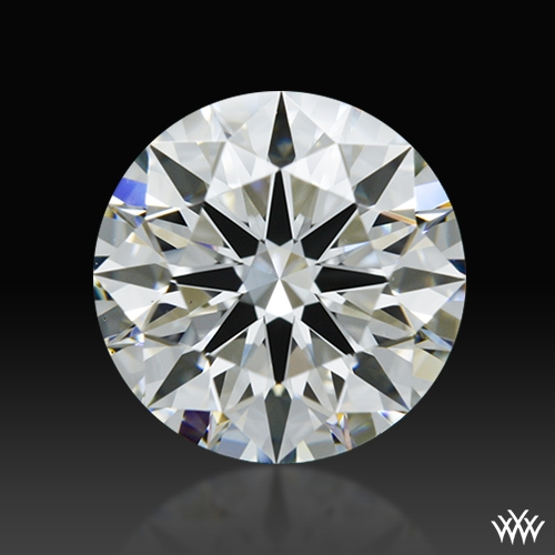 1.303 ct H VS1 A CUT ABOVE® Hearts and Arrows Super Ideal Round Cut Loose Diamond