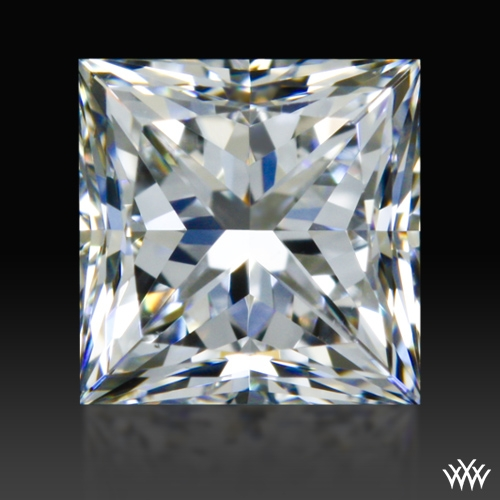 0.575 ct E VS2 A CUT ABOVE® Princess Super Ideal Cut Diamond