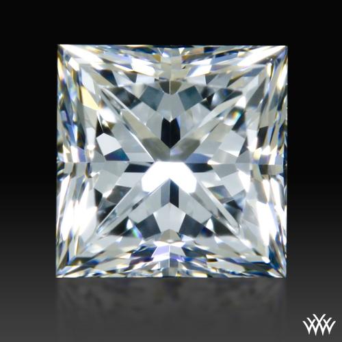 0.834 ct E VS2 A CUT ABOVE® Princess Super Ideal Cut Diamond