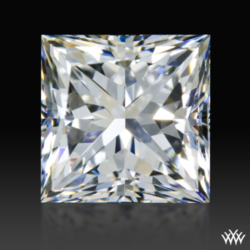 0.803 ct E VVS2 A CUT ABOVE® Princess Super Ideal Cut Diamond