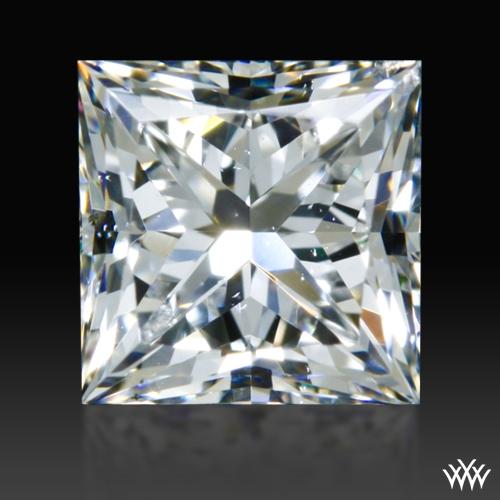 0.585 ct E SI1 A CUT ABOVE® Princess Super Ideal Cut Diamond
