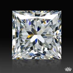 0.716 ct E VVS2 A CUT ABOVE® Princess Super Ideal Cut Diamond