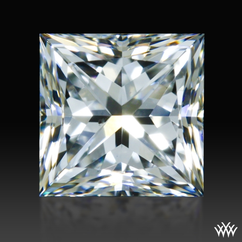 0.683 ct E VS2 A CUT ABOVE® Princess Super Ideal Cut Diamond