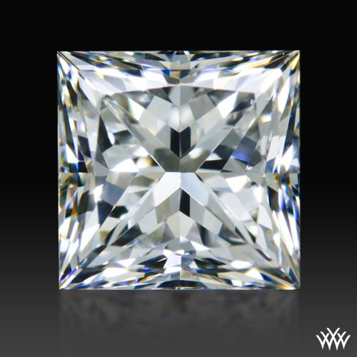 0.827 ct F SI1 A CUT ABOVE® Princess Super Ideal Cut Diamond