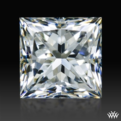 0.827 ct F SI1 A CUT ABOVE® Princess Super Ideal Cut Diamond