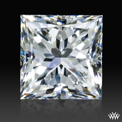 0.76 ct F VS1 A CUT ABOVE® Princess Super Ideal Cut Diamond