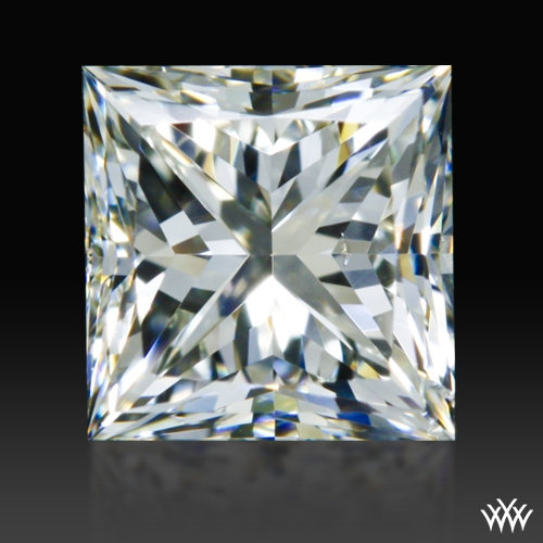 0.698 ct J SI1 A CUT ABOVE® Princess Super Ideal Cut Diamond