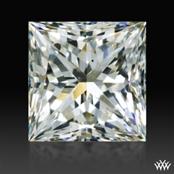 0.743 ct I VS2 A CUT ABOVE® Princess Super Ideal Cut Diamond