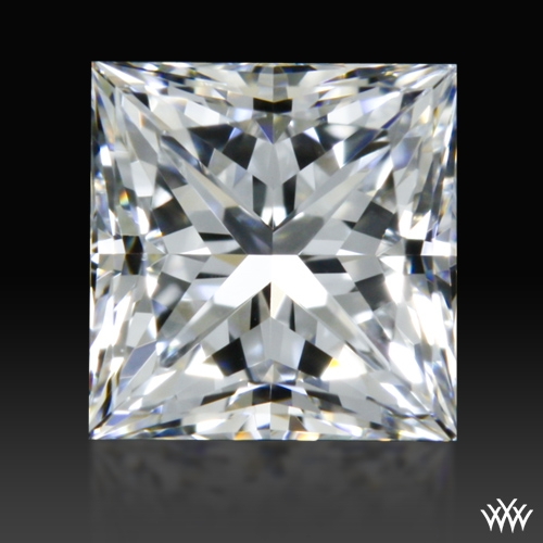 0.518 ct F VS2 A CUT ABOVE® Princess Super Ideal Cut Diamond