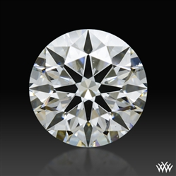 0.837 ct H VS2 A CUT ABOVE® Hearts and Arrows Super Ideal Round Cut Loose Diamond