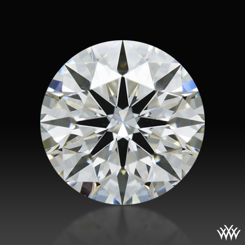0.741 ct H VS2 A CUT ABOVE® Hearts and Arrows Super Ideal Round Cut Loose Diamond