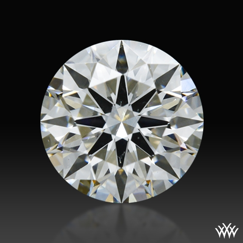 0.762 ct H SI1 A CUT ABOVE® Hearts and Arrows Super Ideal Round Cut Loose Diamond