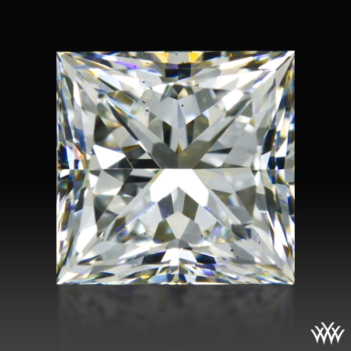 1.33 ct H VS2 A CUT ABOVE® Princess Super Ideal Cut Diamond