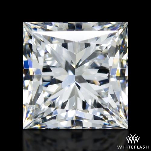 0.912 ct H VVS2 A CUT ABOVE® Princess Super Ideal Cut Diamond