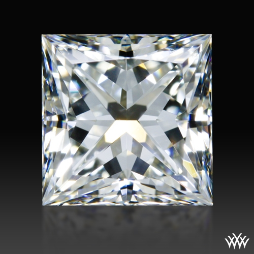 1.221 ct H VS2 A CUT ABOVE® Princess Super Ideal Cut Diamond