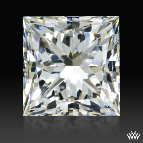 0.611 ct G SI1 A CUT ABOVE® Princess Super Ideal Cut Diamond