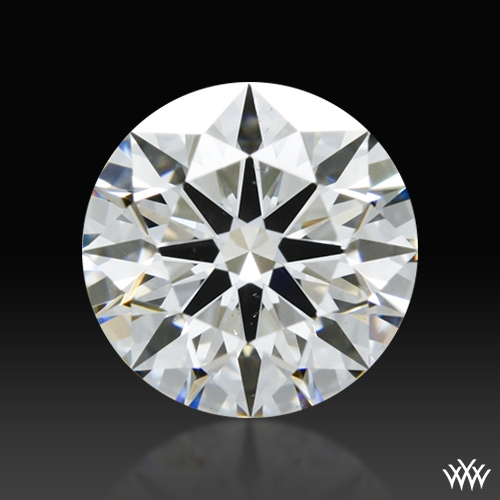 0.913 ct G VS2 A CUT ABOVE® Hearts and Arrows Super Ideal Round Cut Loose Diamond