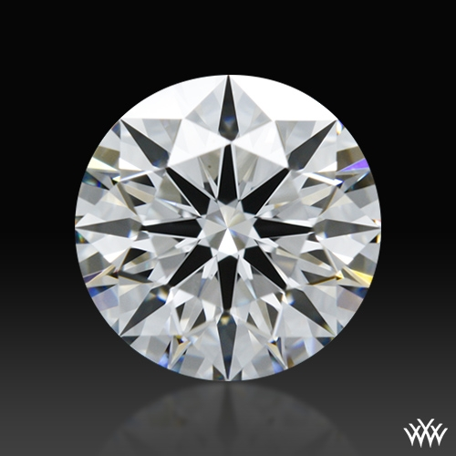 0.906 ct E VS2 A CUT ABOVE® Hearts and Arrows Super Ideal Round Cut Loose Diamond