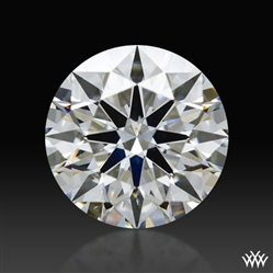 0.907 ct H SI1 A CUT ABOVE® Hearts and Arrows Super Ideal Round Cut Loose Diamond