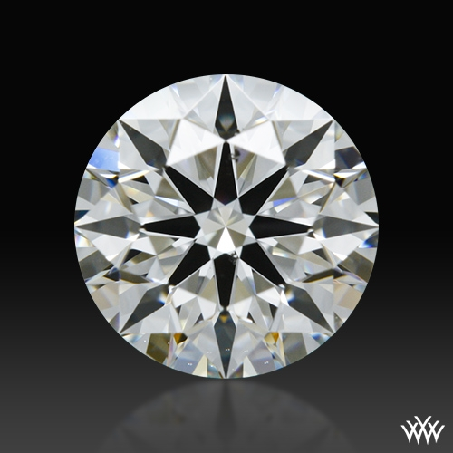 0.944 ct H SI1 A CUT ABOVE® Hearts and Arrows Super Ideal Round Cut Loose Diamond