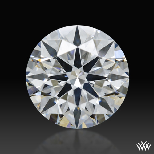 0.907 ct F SI2 A CUT ABOVE® Hearts and Arrows Super Ideal Round Cut Loose Diamond