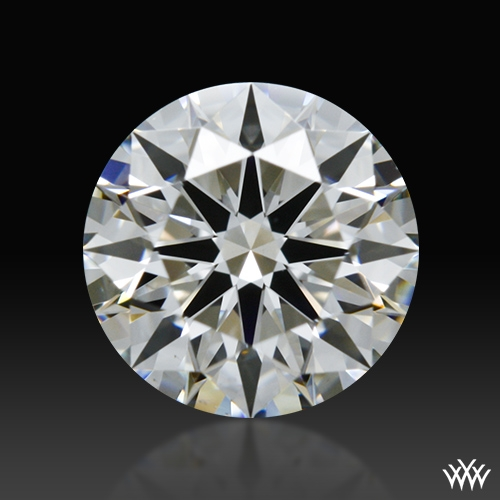 0.704 ct G VS1 A CUT ABOVE® Hearts and Arrows Super Ideal Round Cut Loose Diamond