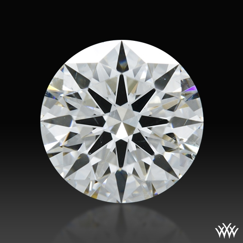 1.365 ct G SI1 A CUT ABOVE® Hearts and Arrows Super Ideal Round Cut Loose Diamond