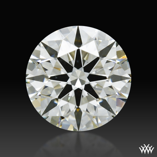 0.867 ct K VS2 A CUT ABOVE® Hearts and Arrows Super Ideal Round Cut Loose Diamond