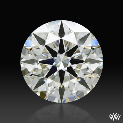 0.773 ct K SI1 A CUT ABOVE® Hearts and Arrows Super Ideal Round Cut Loose Diamond