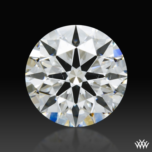 0.636 ct F SI1 A CUT ABOVE® Hearts and Arrows Super Ideal Round Cut Loose Diamond