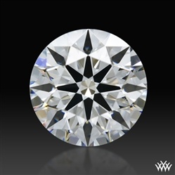 0.643 ct F VS2 A CUT ABOVE® Hearts and Arrows Super Ideal Round Cut Loose Diamond
