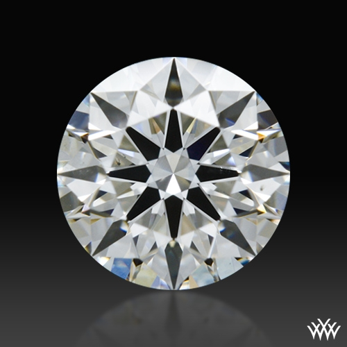 0.627 ct F SI1 A CUT ABOVE® Hearts and Arrows Super Ideal Round Cut Loose Diamond