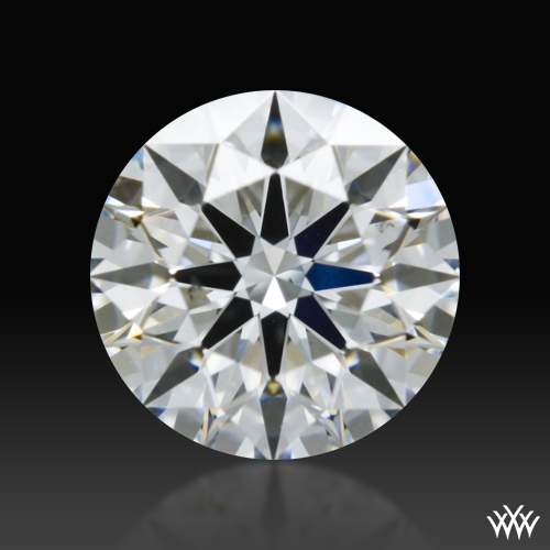 0.536 ct F VS2 A CUT ABOVE® Hearts and Arrows Super Ideal Round Cut Loose Diamond