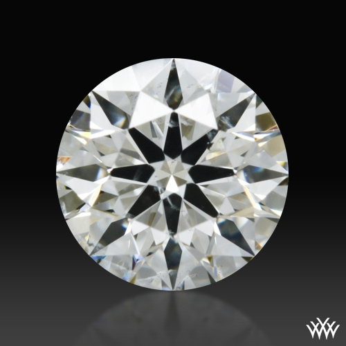0.508 ct J SI2 A CUT ABOVE® Hearts and Arrows Super Ideal Round Cut Loose Diamond