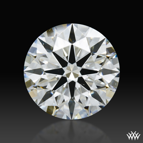 1.01 ct H VS2 A CUT ABOVE® Hearts and Arrows Super Ideal Round Cut Loose Diamond