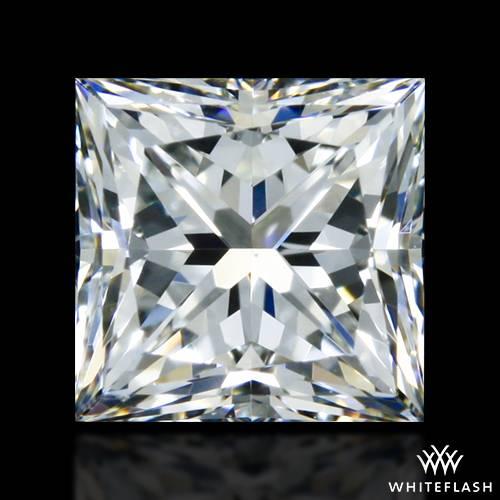 0.716 ct J VS1 A CUT ABOVE® Princess Super Ideal Cut Diamond