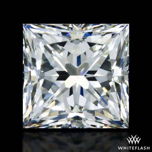 0.716 ct J VS1 A CUT ABOVE® Princess Super Ideal Cut Diamond