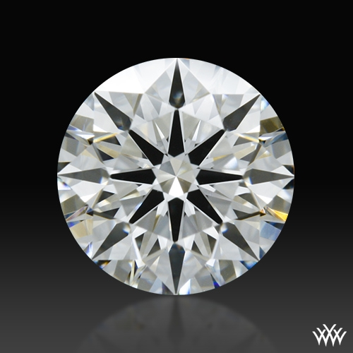 1.191 ct H VS2 A CUT ABOVE® Hearts and Arrows Super Ideal Round Cut Loose Diamond