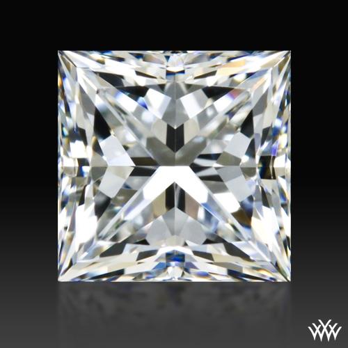 0.851 ct F VVS2 A CUT ABOVE® Princess Super Ideal Cut Diamond