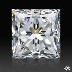 1.033 ct F SI1 A CUT ABOVE® Princess Super Ideal Cut Diamond