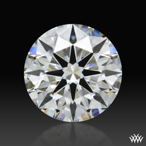 0.648 ct E VS1 A CUT ABOVE® Hearts and Arrows Super Ideal Round Cut Loose Diamond