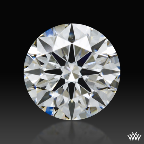 0.608 ct F VS2 A CUT ABOVE® Hearts and Arrows Super Ideal Round Cut Loose Diamond