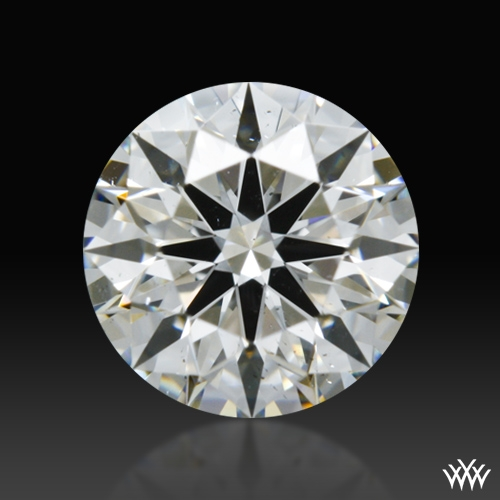 0.61 ct H SI1 A CUT ABOVE® Hearts and Arrows Super Ideal Round Cut Loose Diamond